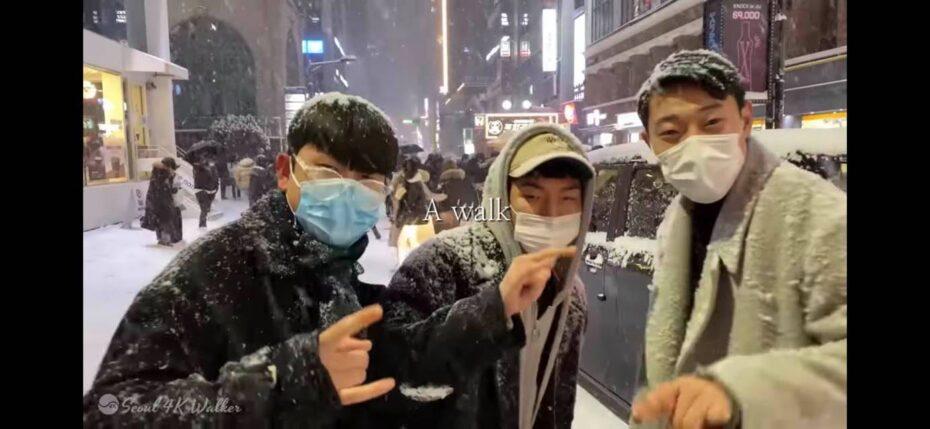 Snow Seoul Walk